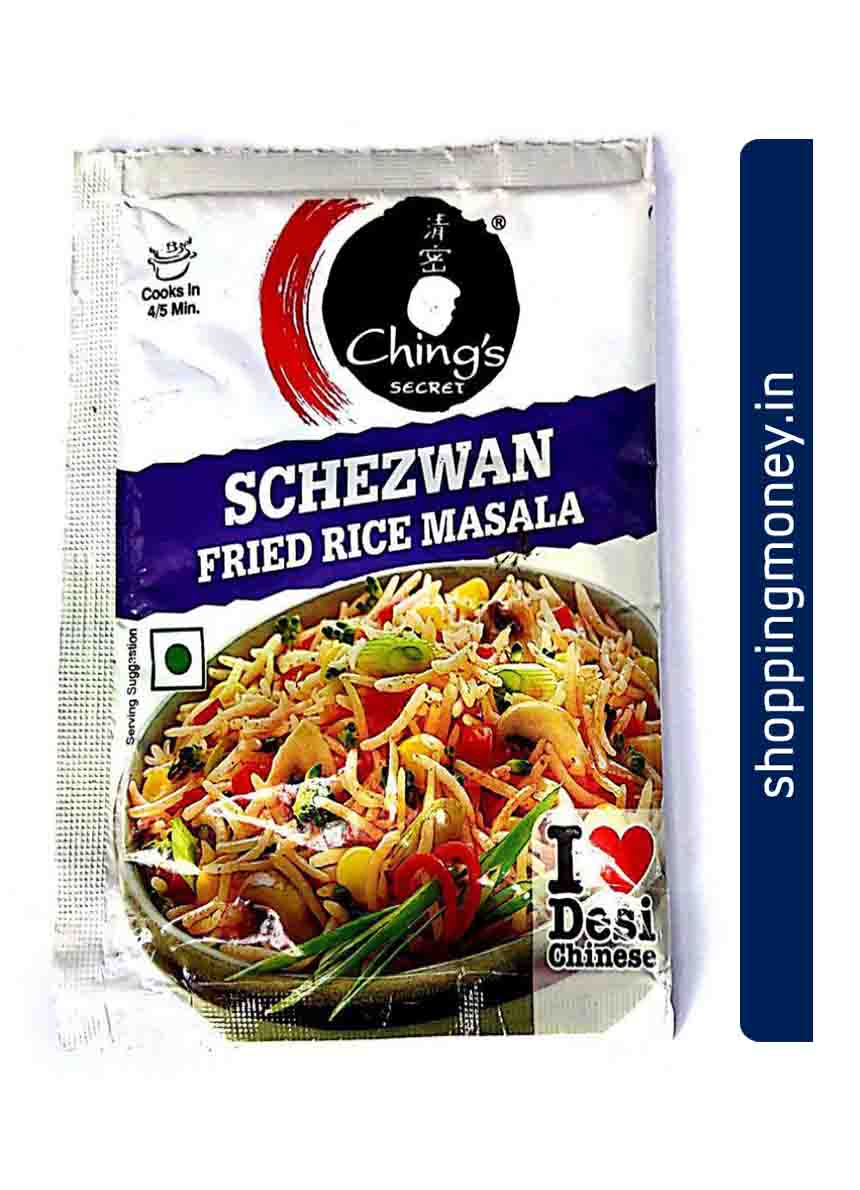 Chings Miracle Schezwan Fried Rice Masala
