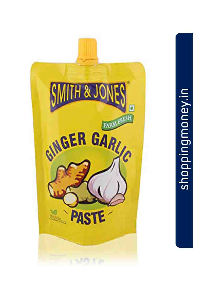 Smith N Jones Garlic Paste
