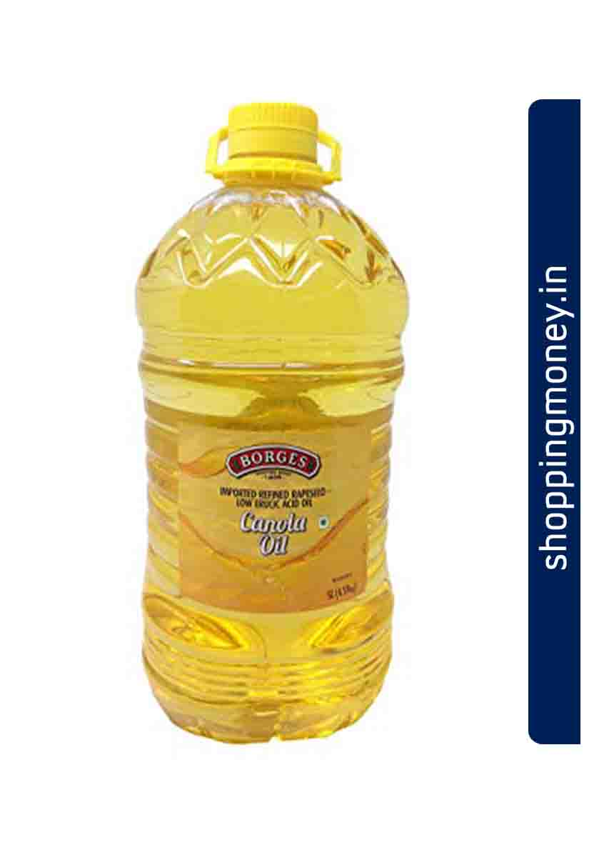 BORGES Refined rapeseed Canola Oil Bottle