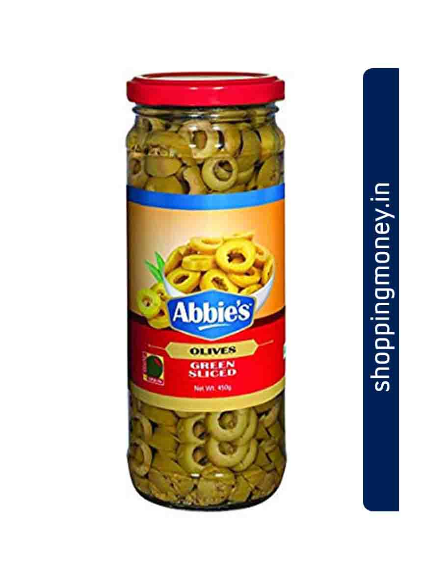 Abbies Olive Green Sliced