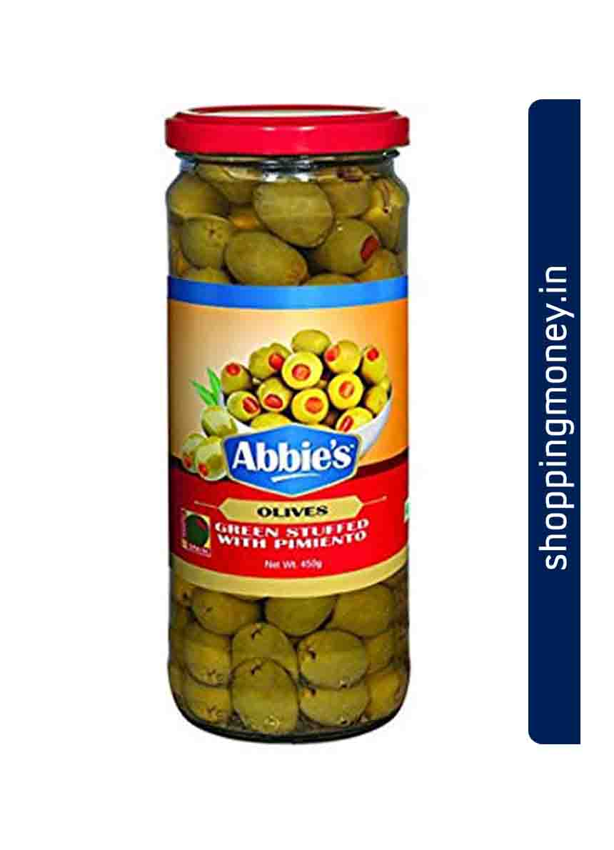 Abbies Olives Green Stuffed With Pimiento