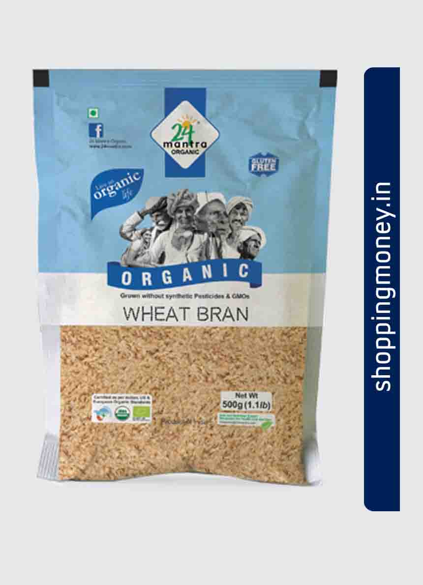 24 Mantra Organic Wheat Bran