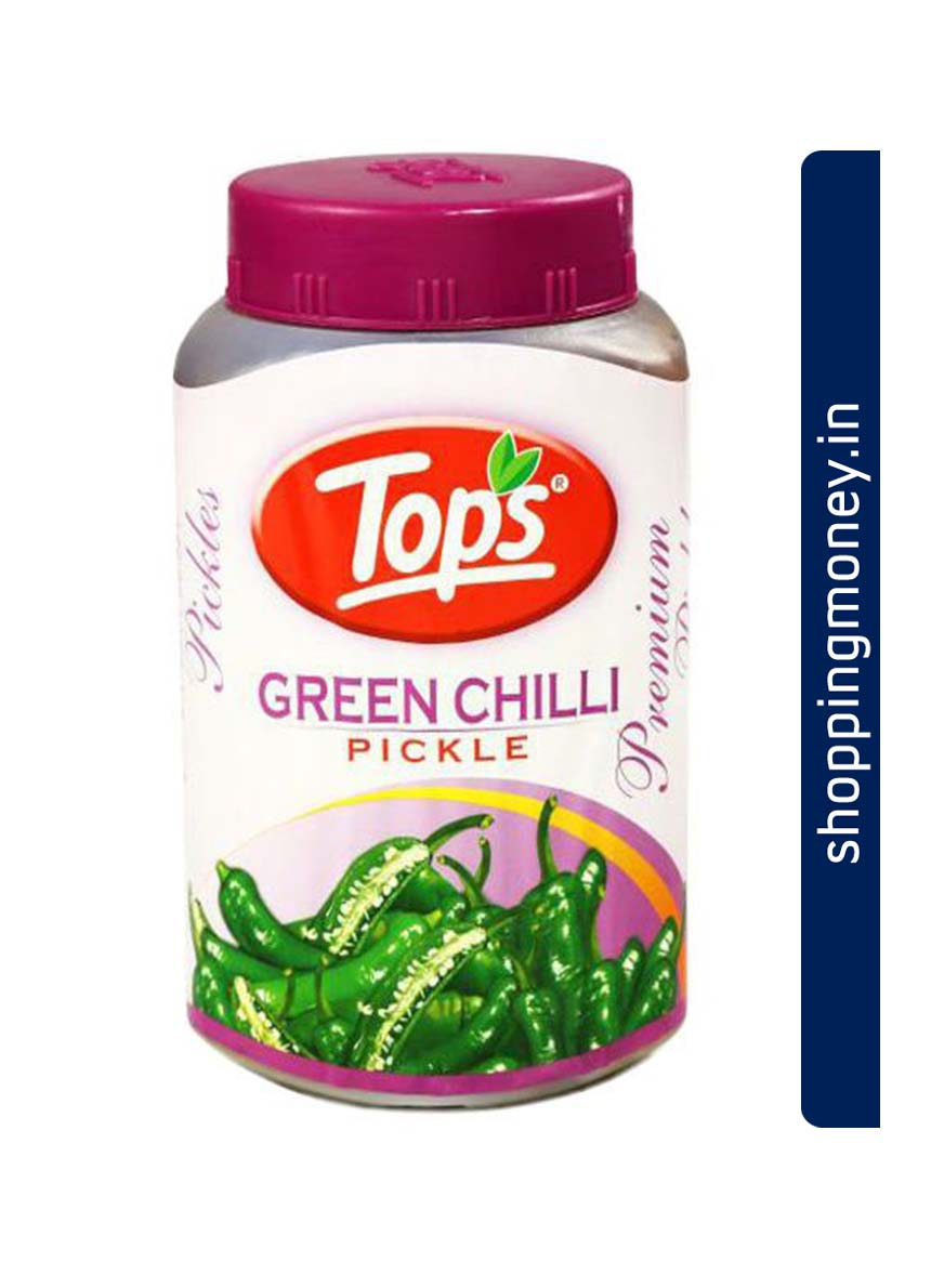 Tops Pickle Green Chilli