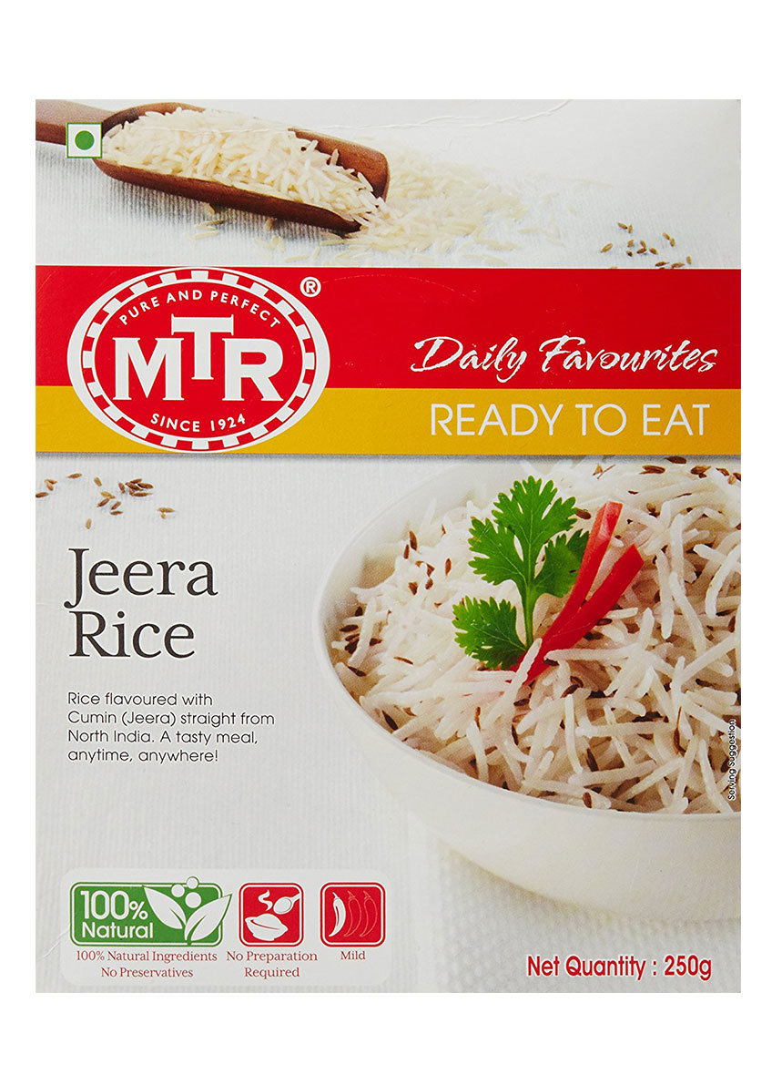 MTR  Ready To Eat - Jeera Rice