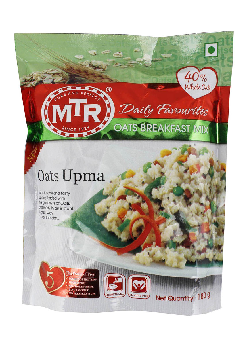 MTR Breakfast Mix - Oats Upma - 180 gm