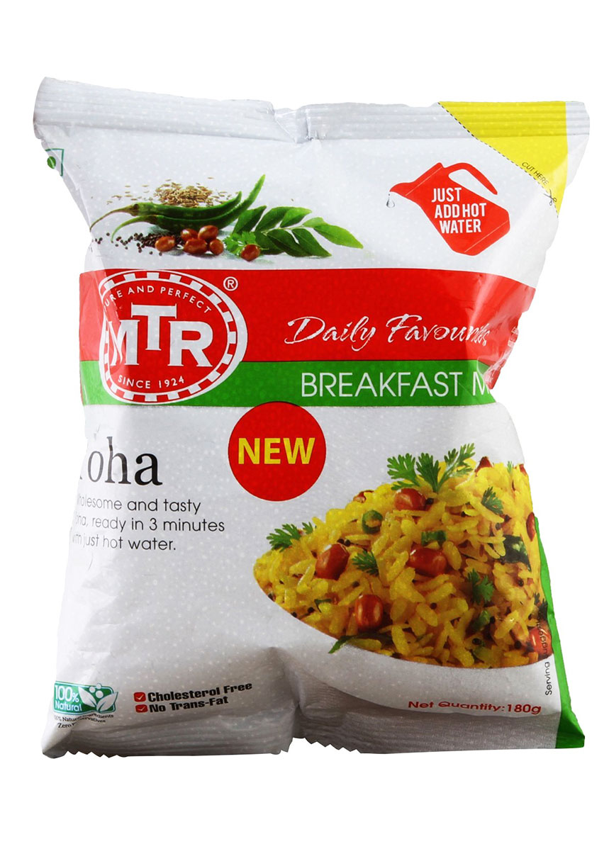 MTR Instant Breakfast Mix - Poha - 180 gm
