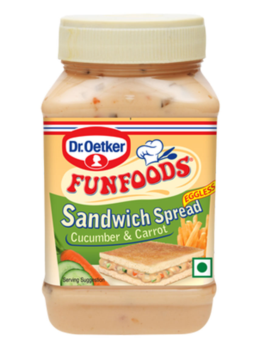 Fun Foods Sandwich Spread Eggless- Cucumber and Carrot (300gm)
