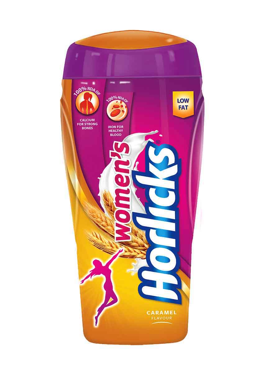 Womens Horlicks - Caramel, 400g Jar