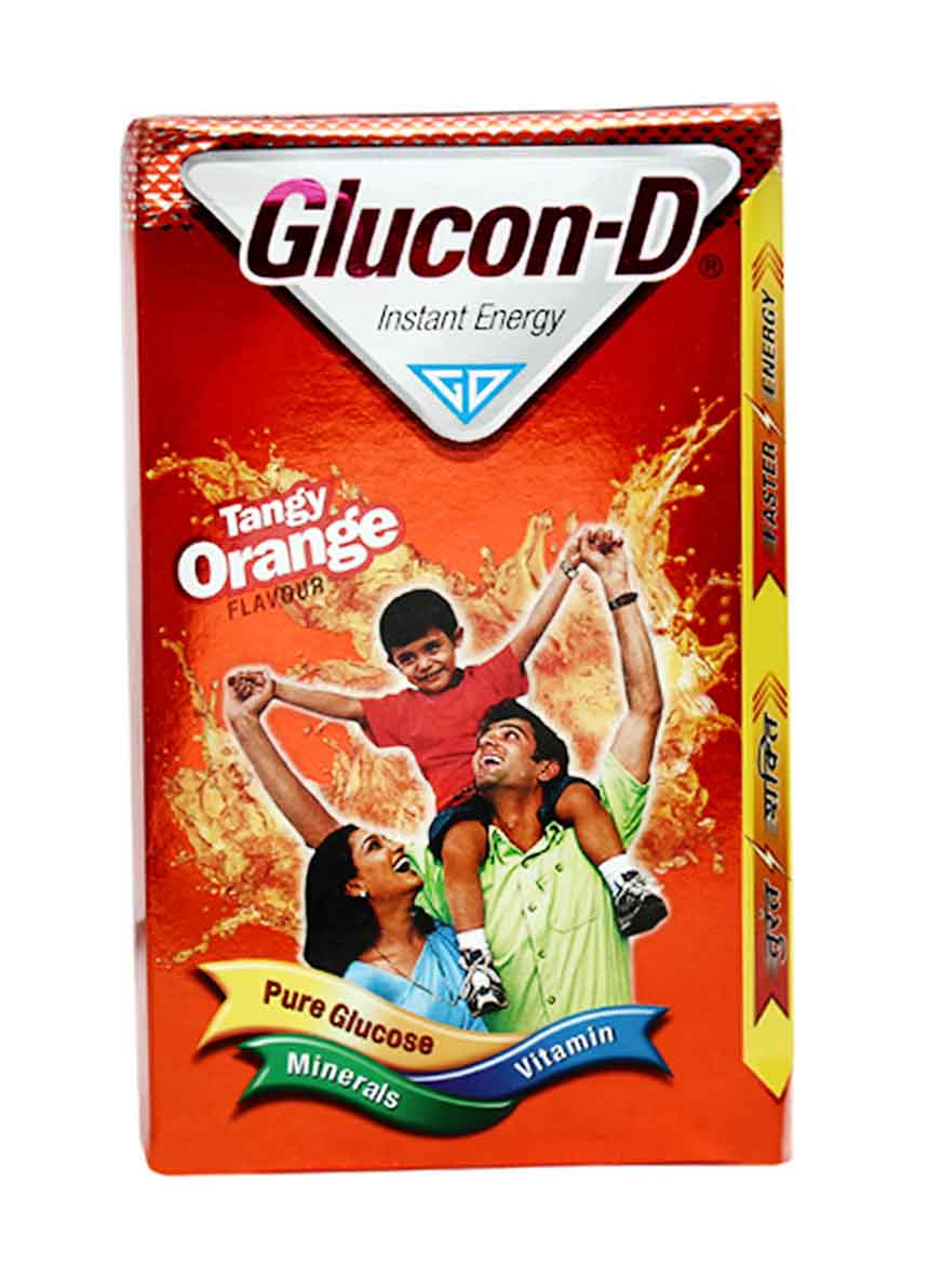Glucon-D Instant Energy- Tangy Orange, 500 Gm Pouch