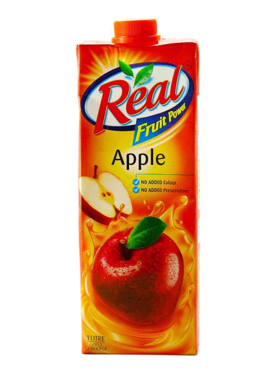 Real Apple Fruit Juice - 1Ltr