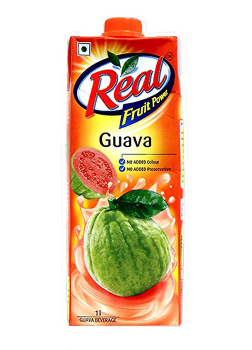 Real Guava Fruit Juice - 1Ltr