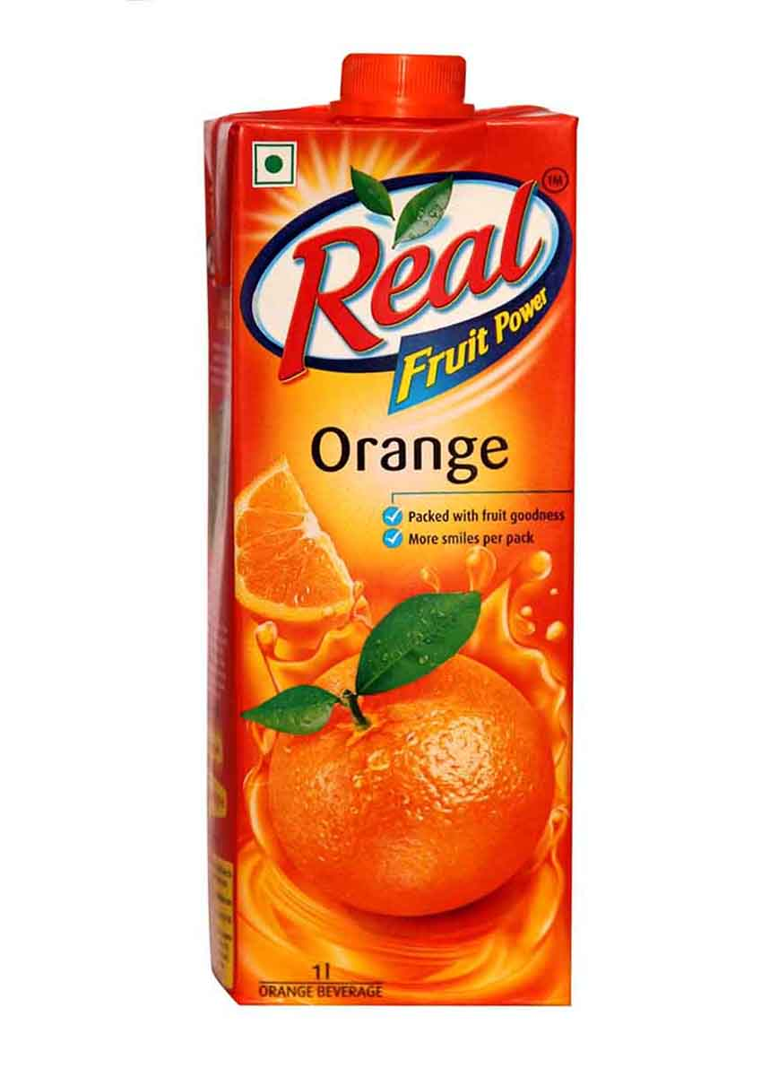 Real Orange Fruit Juice - 1Ltr