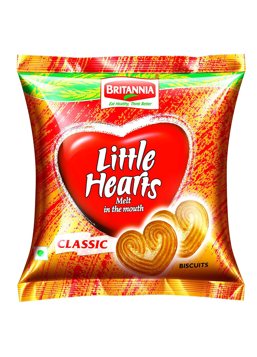 Britannia Little Hearts ( pack of 2 X 37 gm )