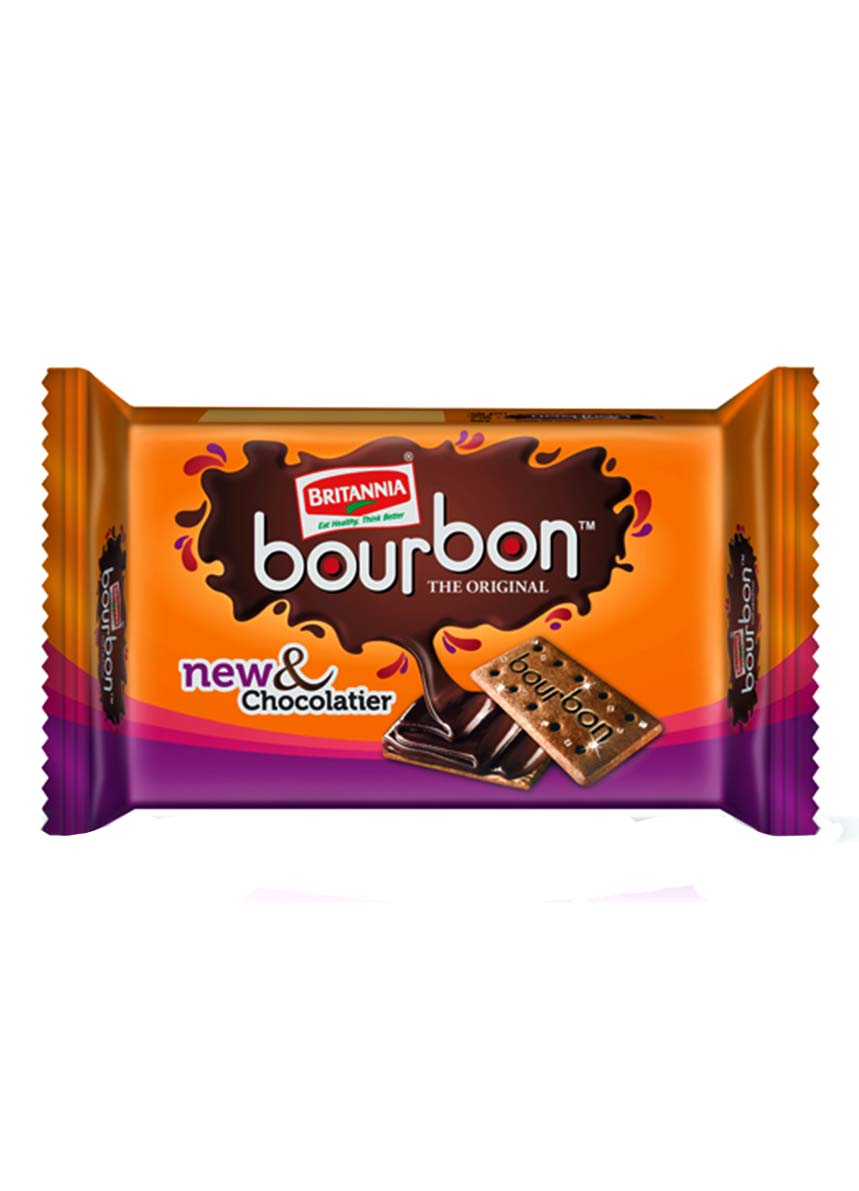 Britannia Bourbon New & Chocolatier - 120 gm