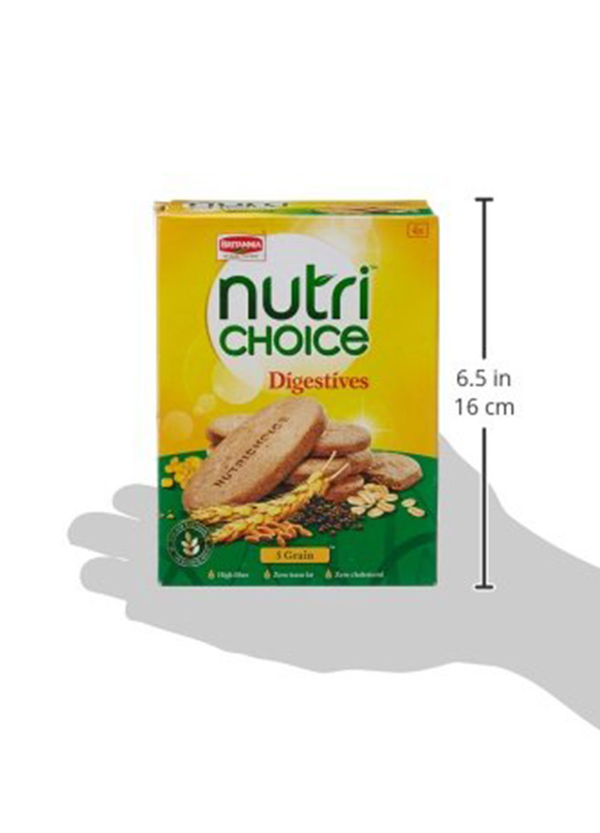 Britannia Nutri Choice  5 Grain Digestive - 200gm
