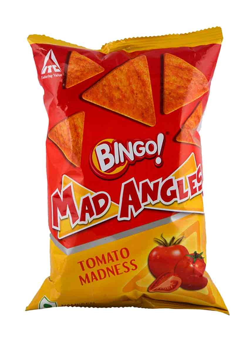 Bingo Mad Angles Tomato Madness  - 90 Gm