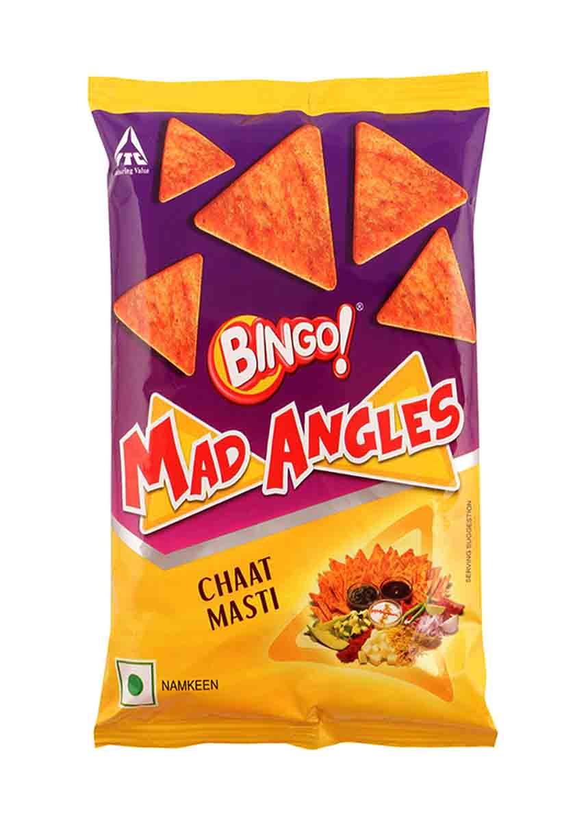 Bingo Mad Angles  Chaat Masti - 90 Gm