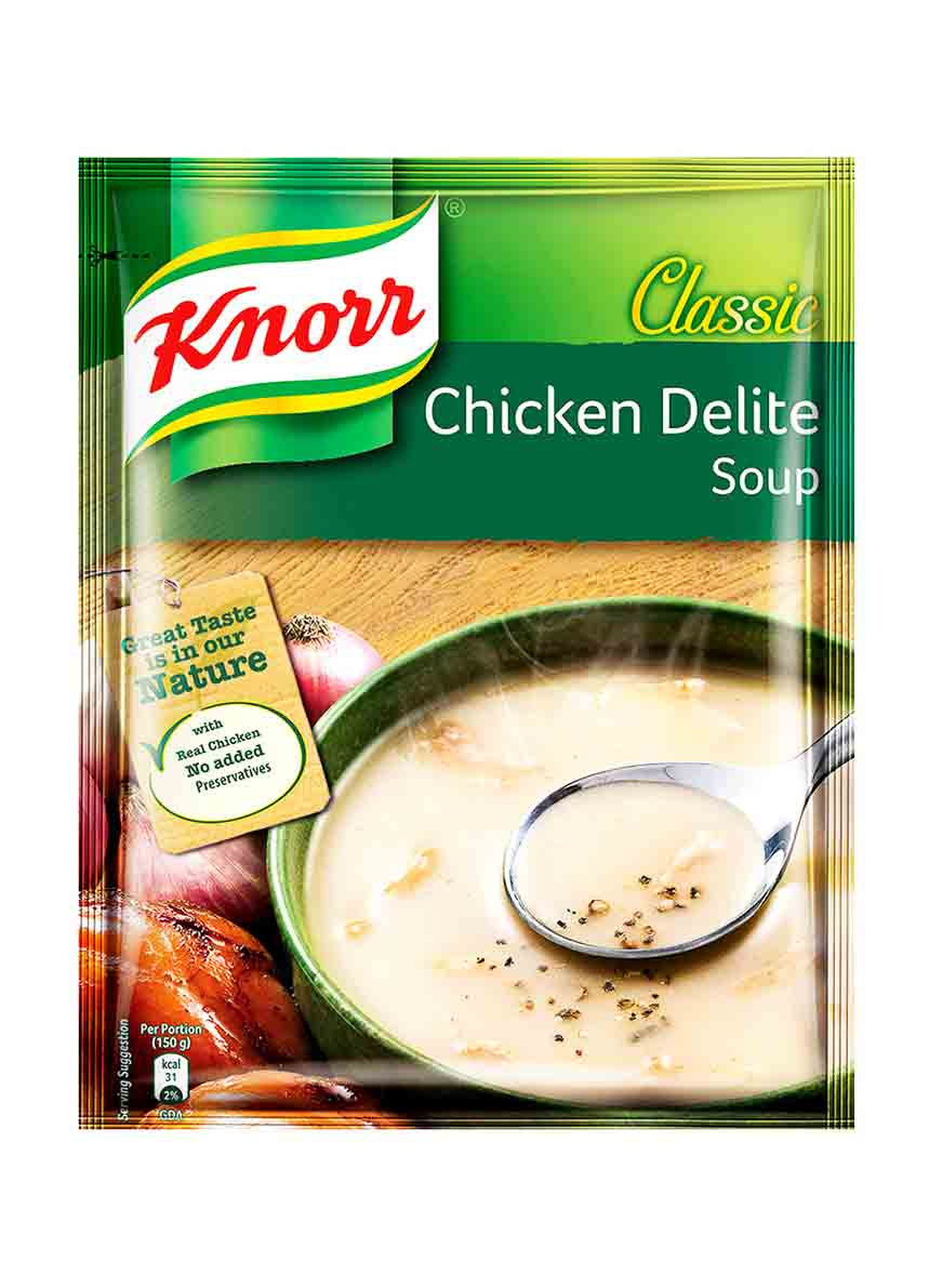 Knorr Chicken Delight Soup Pouch -44g