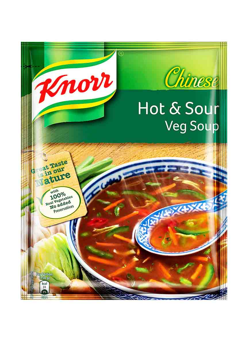Knorr Soup Hot and Sour Veg Pouch