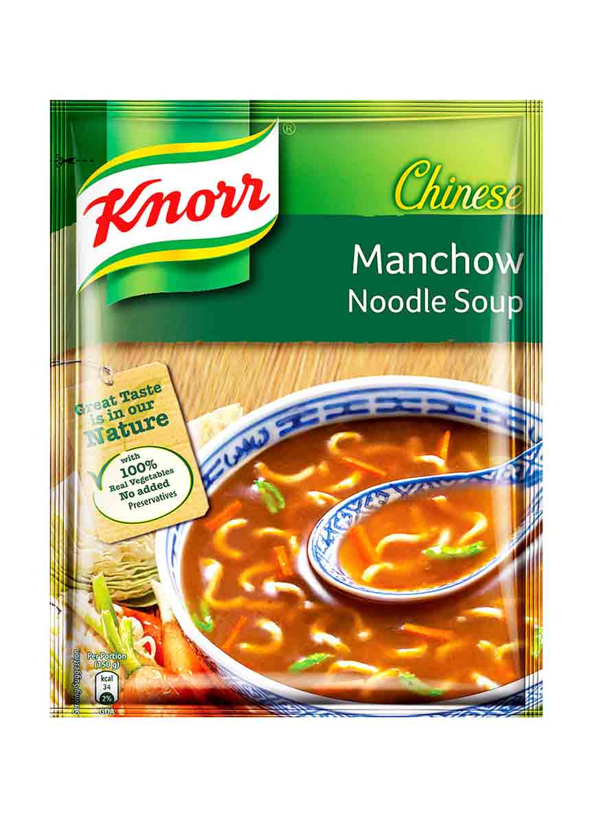 Knorr Chinese Manchow Noodles Soup -55g