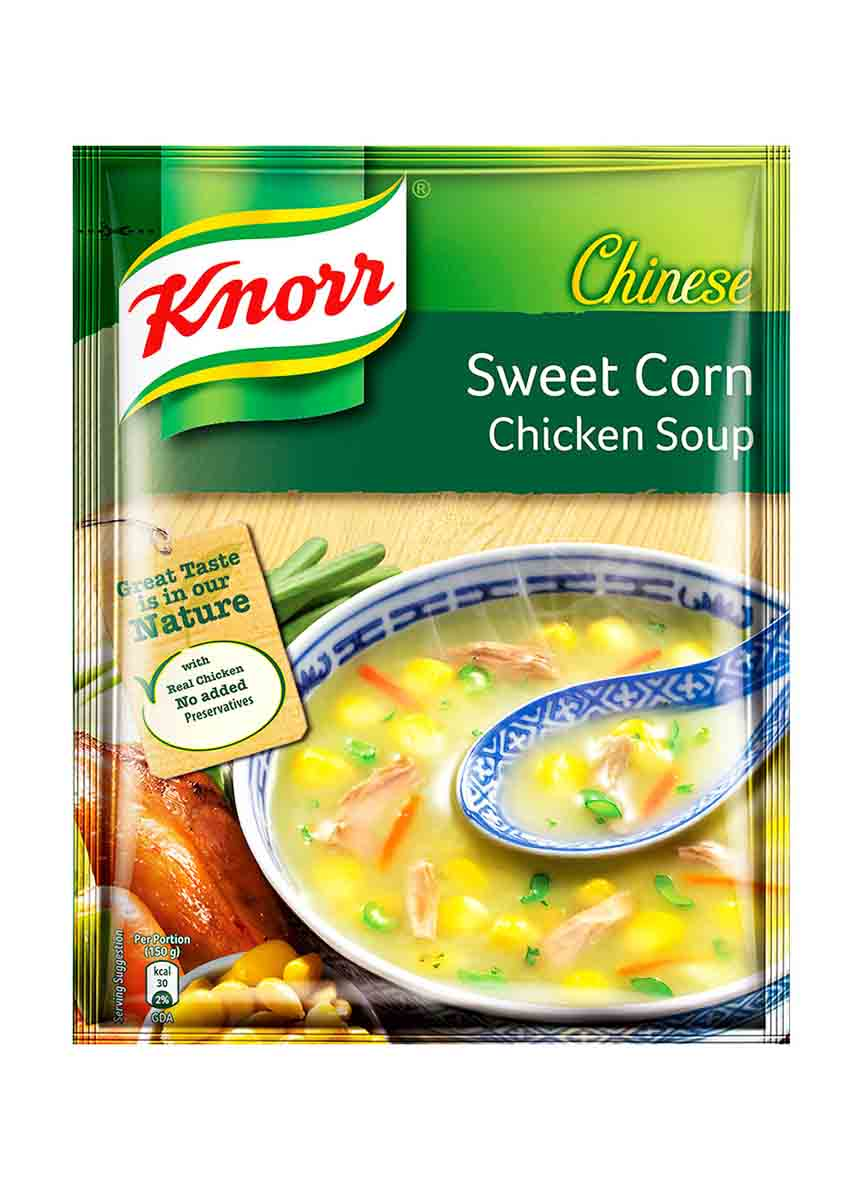 Knorr Chinese Sweet Corn Chicken Soup - 42g