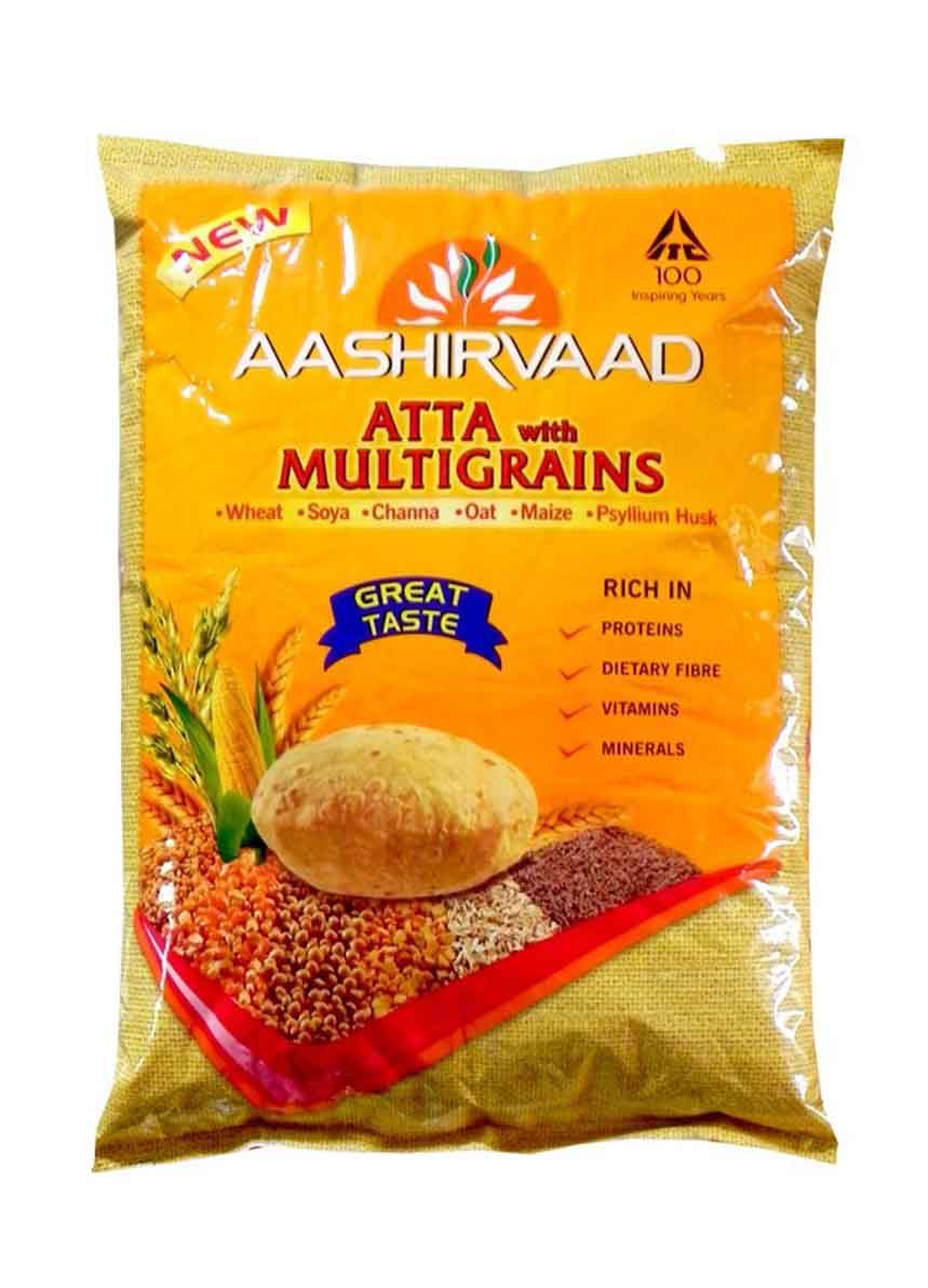 Aashirvaad Atta With Multigrain -5kg