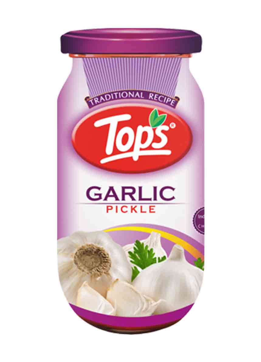 Tops Garlic Pickle -400gm