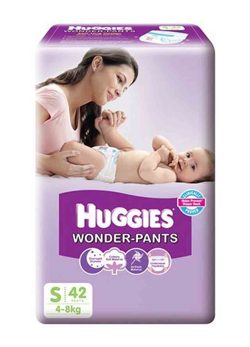 Huggies Wonder - Pants (S 42 Counts)