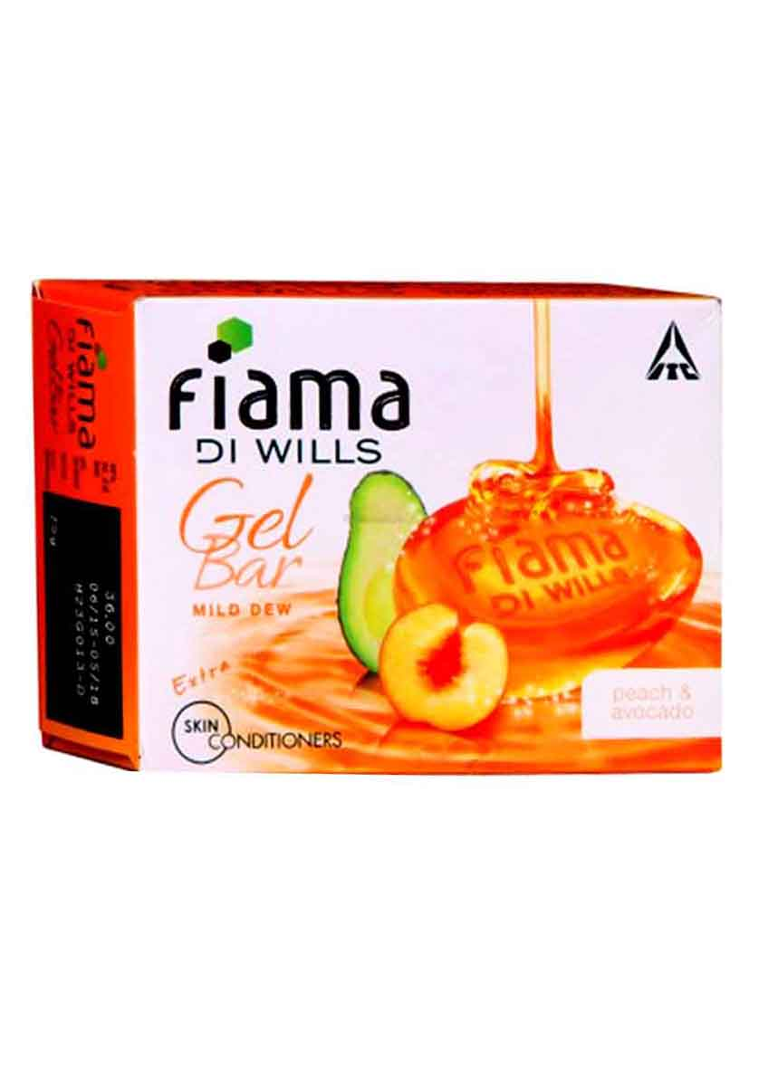 Fiama Di Wills Peach And Avocado Gel Bar -125g Pack of 3