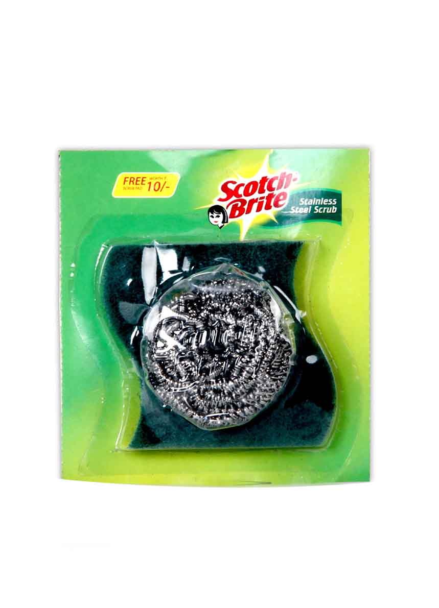 Scotch Brite Steel Scrub Scrubber