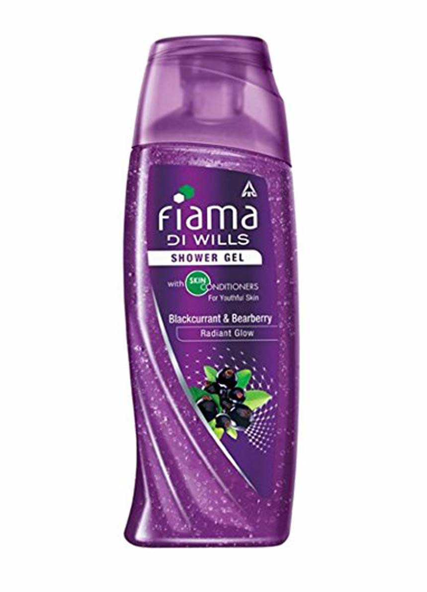 Fiama Di Wills Black Currant Bearberry Radiant Glow Shower Gel -250ml + Loofah Free