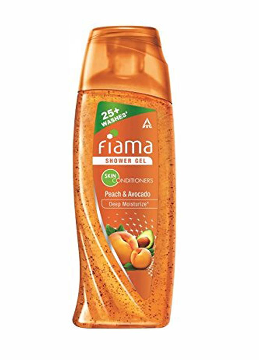 Fiama Di Wills Peach and Avocado Deep Moisturize Shower Gel - 250ml + Loofah Free