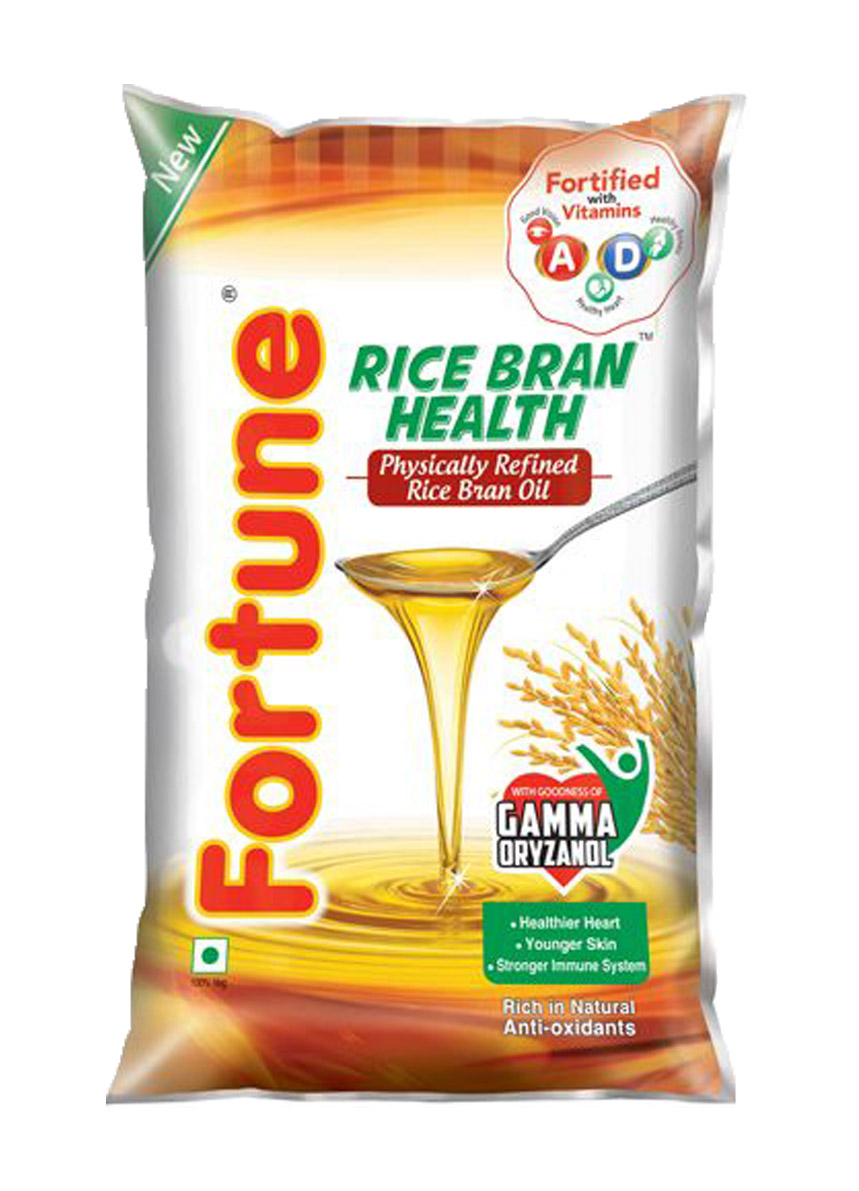 Fortune Rice Bran Oil - 1 ltr. pouch