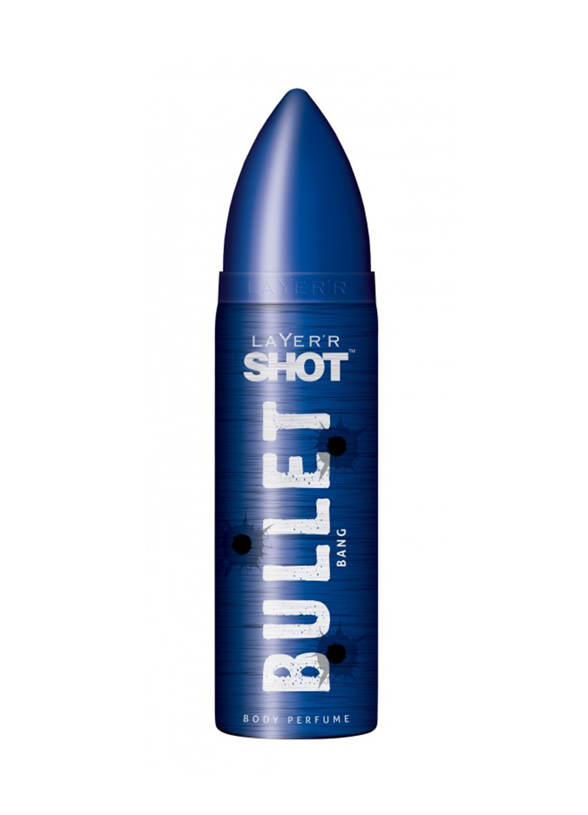 Layer Shot Bullet Bang Body Perfume - For Men - 120ml