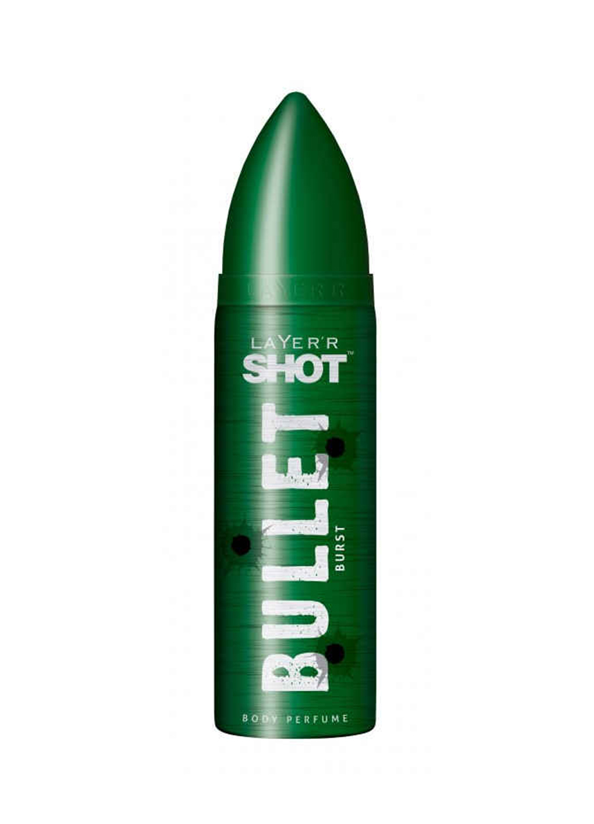 Layer Shot Bullet Burst Body Perfume - For Men - 120ml