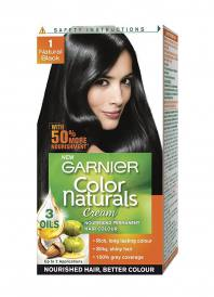 Garnier Color Naturals Hair Color 29ml Plus 16gm - Shade 1 Natural Black